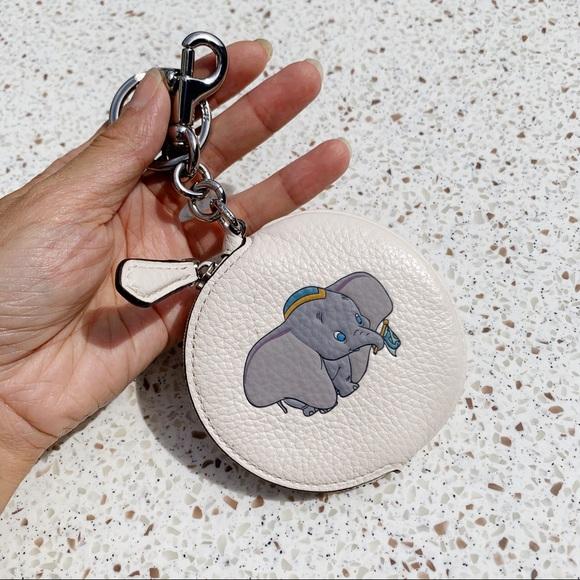 Coach Accessories - NWT Coach Limited Disney Dumbo Coin Purse Key Fob